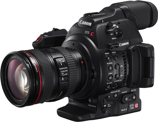 佳能(Canon)EOS C100 Mark II 专业摄像机 电影机